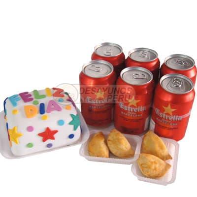 I-quiero.com - Desayuno Pinkys - Codigo:END10 - Detalles: CAja de regalo conteniendo: jugo de frutas, sandwich mixto en pan especial, postres de tres leches, palitos de queso y una deliciosa torta de 10x10cm de vainilla con decoracion completa en masa elastica segun dise�o. - - Para mayores informes llamenos al Telf: 225-5120 o 476-0753.