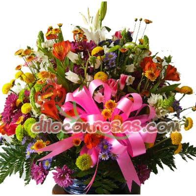 Elegancia con Flores