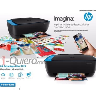 Deliregalos.com - Impresora HP Advantage Ultra - Codigo:FPP10 - Detalles: Imprime, copia scanea. Tintas compatibles HP 46 Imprime 4500 paginas por cartucho impresion Movil  Wifi  - - Para mayores informes llamenos al Telf: 225-5120 o 476-0753.