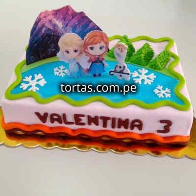 Grameco.com - Regalos a PeruTorta Frozen 04