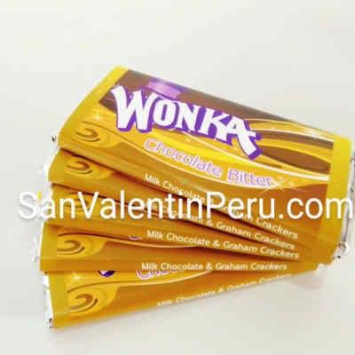 I-quiero.com - Chocolate Wonka - Codigo:GBH11 - Detalles: Barra Gigante de 24 bloques. Chocolate Wonka. 100gr Blanco o Bitter segun stock - - Para mayores informes llamenos al Telf: 225-5120 o 476-0753.