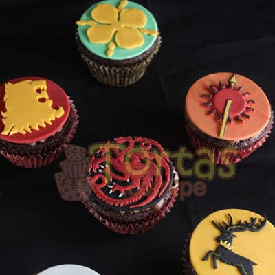 Grameco.com - Regalos a PeruMuffins Game of Thrones 06