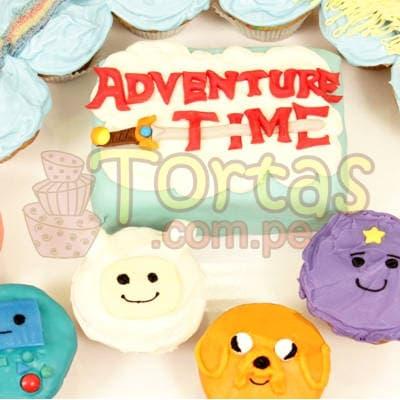 Grameco.com - Regalos a PeruTorta Hora Aventura y Muffins