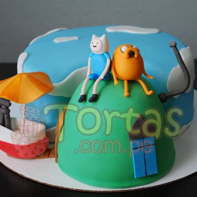 Grameco.com - Regalos a PeruTorta Adventure Time 10