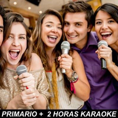 Diloconrosas.com - Pack Primario Karaoke - Codigo:HLK01 - Detalles: Alquiler de karaoke Primario Ten el Karaoke en tu casa  1 Parlante + Maq Karaoke + 2 Mic Alambricos + Pistas 2 hora de Servicio. El servicio se instala entre 1 y 2 horas antes del inicio del horario contratado. - - Para mayores informes llamenos al Telf: 225-5120 o 476-0753.