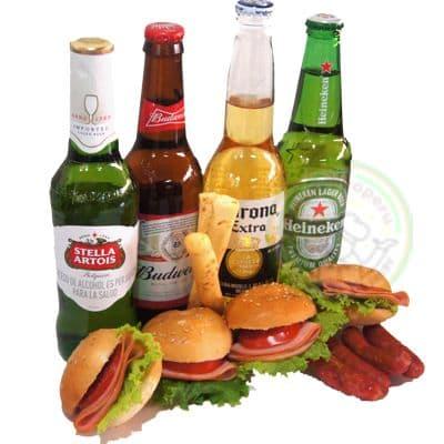 Piqueo de Amistad | Pack con cerveza Pilsen Para Regalar con Delivery - Cod:IDA20