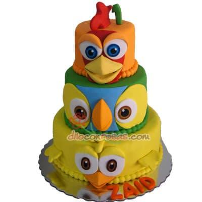 Cupcakes Granja - Codigo:LGM09 - Detalles: Doce deliciosos cupcakes de vainilla decorados en masa elastica.  - - Para mayores informes llamenos al Telf: 225-5120 o 4760-753.