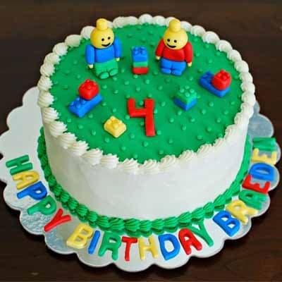 Tortas.com.pe - Torta Lego 09 - Codigo:LGT17 - Detalles: keke De Vainilla   ba�ado en manjar y forrado en su totalidad con masa elastica, con las siguientes medidas: 15 cm de diametro  - - Para mayores informes llamenos al Telf: 225-5120 o 476-0753.