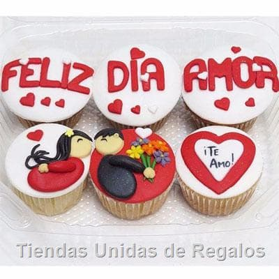 I-quiero.com - Regalos a Peru - Muffins Te quiero mucho