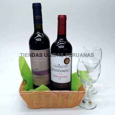 Maletin Amane del Vino - Codigo:MCN20 - Detalles: Elegante Maletín,Vinos.Contiene 1 Vino tinto Santa Julia Malbec(Argentina),y 1 Vino tinto Armador Syrah(Chile)  - - Para mayores informes llamenos al Telf: 225-5120 o 4760-753.