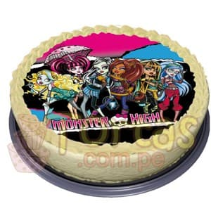 Grameco.com - Regalos a PeruFoto-Torta Monster High 06