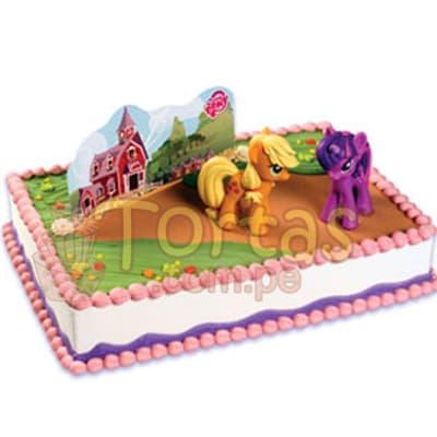 Grameco.com - Regalos a PeruTorta Grande Little Pony 06