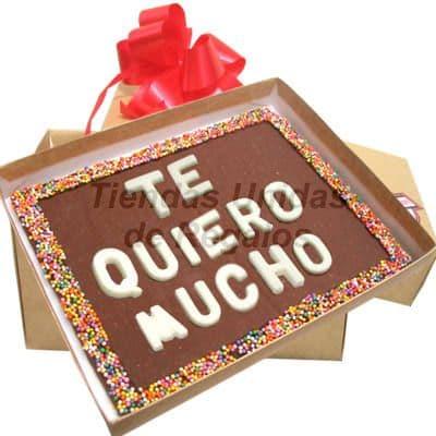 ChocoMensaje - Te quiero Mucho