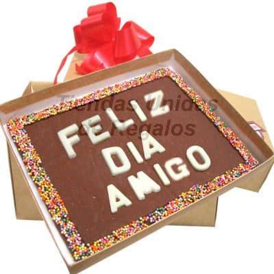 ChocoMensaje - Feliz dia Amigo
