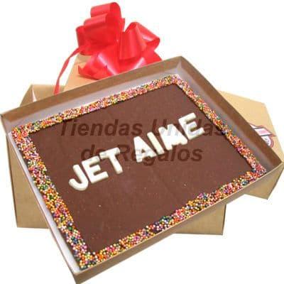ChocoMensaje - Jet Aime