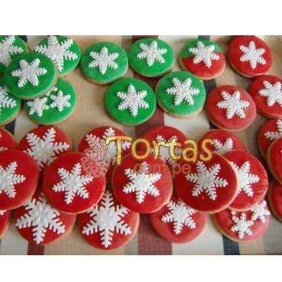 Galletas Navidad 04 - Codigo:NAC13 - Detalles: 12 Galletas decoradas con masa elástica - - Para mayores informes llamenos al Telf: 225-5120 o 4760-753.
