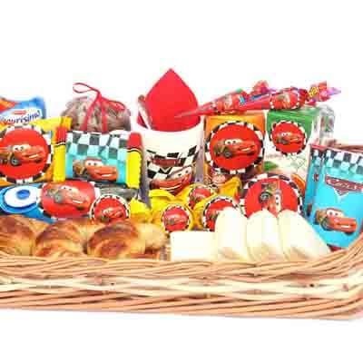 Deliregalos.com - Desayuno ni�o03 - Codigo:NOS03 - Detalles: Desayuno cars compuesto por taza personalizada, porcion de popcorn, mini galletas chocochip, 1 caja de leche chocolatada, 1 caja de frugos, 1 tartaleta, 2 bonobon, 1 sandwich de lomito ahumado, 1 sticker en tama�o A5 de frozzen, 1 poster tama�o A4, todo en una caja de rgalo, 2 chupetines - - Para mayores informes llamenos al Telf: 225-5120 o 476-0753.