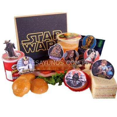 Desayunos Infantiles a Domicilio | Desayunos Delivery | Desayunos Star Wars - Cod:NOS14