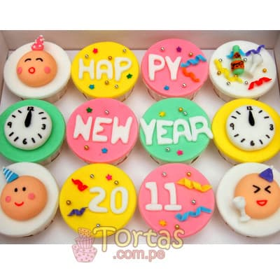 Deliregalos.com - Cupcakes Nuevos 02 - Codigo:NYR02 - Detalles: Docena de cupcakes de vainilla y forrados con masa elastica. Incluye dise�os segun imagen. - - Para mayores informes llamenos al Telf: 225-5120 o 476-0753.