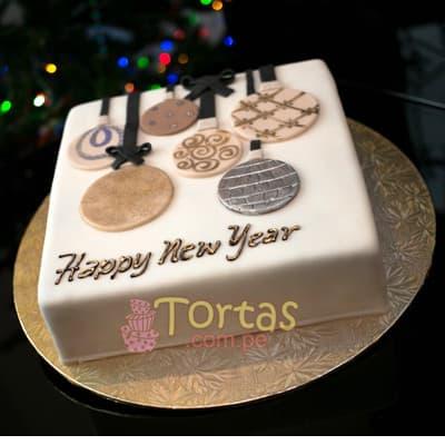 Deliregalos.com - Torta Nueva 04 - Codigo:NYR04 - Detalles: Delicioso keke De Vainilla ba�ado con manjar blanco y forrado con masa elastica.  Incluye decoracion segun imagen Tama�o: 25x25cm.  - - Para mayores informes llamenos al Telf: 225-5120 o 476-0753.