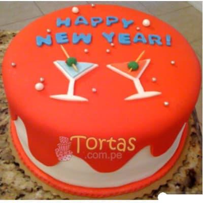 Deliregalos.com - Torta Nueva 05 - Codigo:NYR05 - Detalles: Delicioso keke De Vainilla ba�ado con manjar blanco y forrado con masa elastica.  Incluye decoracion segun imagen Tama�o:15cm de diametro - - Para mayores informes llamenos al Telf: 225-5120 o 476-0753.