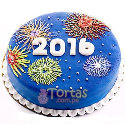 Deliregalos.com - Torta Nueva 09 - Codigo:NYR09 - Detalles: Delicioso keke De Vainilla ba�ado con manjar blanco y forrado con masa elastica.  Incluye decoracion segun imagen Tama�o:25cm de diametro - - Para mayores informes llamenos al Telf: 225-5120 o 476-0753.