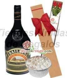 Deliregalos.com - Caja de 2 rosas + Licor Baileys y postre - Codigo:OFE25 - Detalles: Licor Bayleys de 750cc , Caja ecol�gica de 2 rosas importadas y delicioso postre de vainilla. - - Para mayores informes llamenos al Telf: 225-5120 o 476-0753.