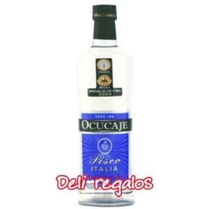 Deliregalos.com - Pisco Ocucaje - Codigo:PIS05 - Detalles: Uva Italia - x 750ml - - Para mayores informes llamenos al Telf: 225-5120 o 476-0753.
