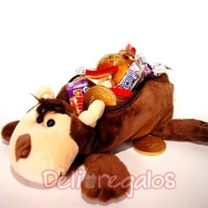 Oso con Chocolates