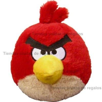Deliregalos.com - Peluche Angry Birds Grande - Codigo:PLH17 - Detalles: Famoso Peluche Rojo de medidas 50cm de altura Incluye tarjeta de dedicatoria. - - Para mayores informes llamenos al Telf: 225-5120 o 476-0753.