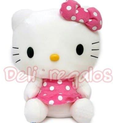 Deliregalos.com - Grande Kitty - Codigo:PLH50 - Detalles: Lindo peluche Gitante de Hello Kitty de 70cm de alto aprox. El peluche tiene vestido rosado. - - Para mayores informes llamenos al Telf: 225-5120 o 476-0753.