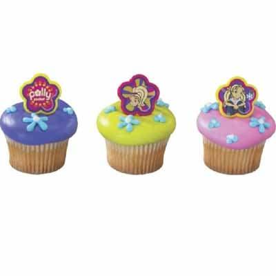 Lafrutita.com - Cupcakes Polly pocket 07 - Codigo:PLL07 - Detalles: 12 cupcakes de vainilla decorados con masa el�stica, im�genes en foto impresi�n no comestible - - Para mayores informes llamenos al Telf: 225-5120 o 476-0753.
