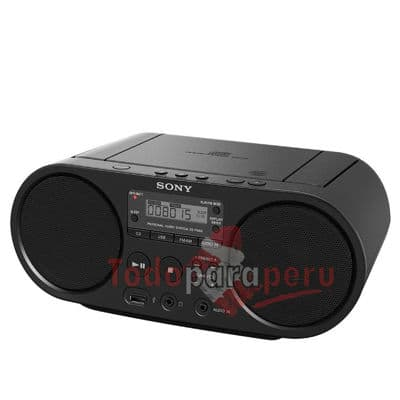 I-quiero.com - Radio CD Sony - Codigo:QAF03 - Detalles: General Bater�aNo Consumo15 W Garant�a12 meses Peso1.72Gr Voltaje220v  Audio Formatos de reproducci�nCD / CD-RW/ Mp3 Potencia4 RMS W Sintonizador AMDigital Sintonizador FMDigital SonidoEstereo / Mono SubwooferNo  Conectividad Aud�fonosSi 3.5mm BluetoothNo Entrada de Audio AuxiliarSi 3.5mm Micr�fonoNo USBSi, 2.0  Conveniencia Control remotoNo Funcionamiento a PilasSi (6 tipo C) Modos de SonidoNo  - - Para mayores informes llamenos al Telf: 225-5120 o 476-0753.