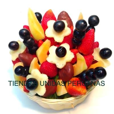 Grameco.com - Regalos a PeruArreglo Frutal en Cesta 01