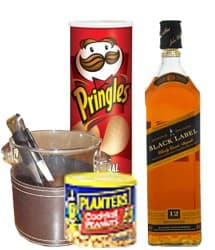 Exquisito para Papa - Codigo:REG02 - Detalles: Whisky Johnny walker etiqueta negra, papas pringles especiales, lata de mani planters, hielera cromada, pinza para hielo. Tarjeta de Dedicatoria. - - Para mayores informes llamenos al Telf: 225-5120 o 4760-753.