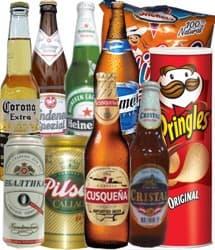 Presente para Papa en su dia - Codigo:REG04 - Detalles: Seleccion de cervezas personales nacionales e importadas que incluye Bolsa de Dpritos, Prigles Original. Tarjeta de dedicatoria. - - Para mayores informes llamenos al Telf: 225-5120 o 4760-753.