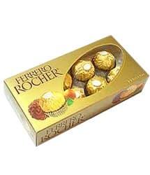 Ferrero Rocher x 8 - Codigo:REG05 - Detalles: Caja de Bombones Franceses Ferreri Rocher en presentacin de 8 unidades - - Para mayores informes llamenos al Telf: 225-5120 o 4760-753.