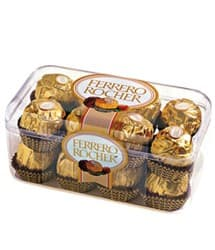 Caja 16 chocolates Ferrero Rocher
