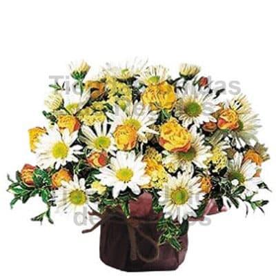 I-quiero.com - Arreglos florales Secretaria - Codigo:SEC06 - Detalles: envases de cer�mica conteniendo Arreglo floral con flores de estaci�n con una altura de entre 25 y 28cm. El color de las flores es solo referencial.   - - Para mayores informes llamenos al Telf: 225-5120 o 476-0753.
