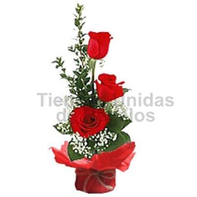 Lafrutita.com - Arreglo de 3 Rosas Importadas - Codigo:SET07 - Detalles: Lindo detalle floral a base de 3 rosas importadas, flores y follaje de estaci�n. El presente viene en una base de cer�mica. Incluye tarjeta de dedicatoria.  - - Para mayores informes llamenos al Telf: 225-5120 o 476-0753.