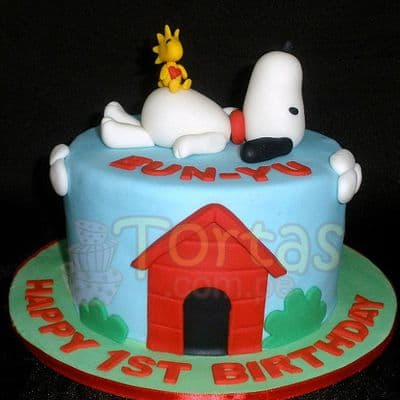 I-quiero.com - Regalos a Peru - Torta Snoopy 10