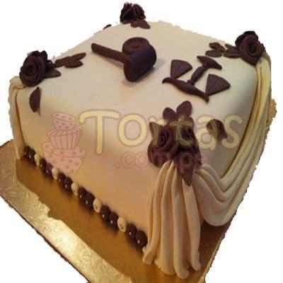 Tortas.com.pe - Torta Abogado 06 - Codigo:TAG06 - Detalles: Torta hecha a base de queque De Vainilla  ,    en manjar blanco, forrado y decorado en su totalidad con masa el�stica. Mide  20x20.  Base forrada en  papel aluminio. Toda la decoraci�n en  masa el�stica.  - - Para mayores informes llamenos al Telf: 225-5120 o 476-0753.