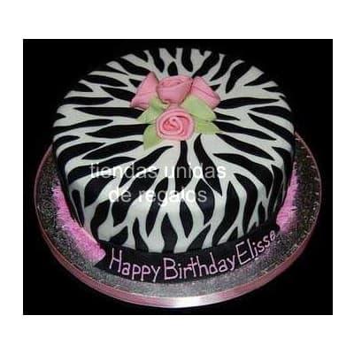 Torta Animal print 04 - Codigo:TAP04 - Detalles: Deliciosa torta de keke ingles, bañado con manjar blanco y forrado con masa elástica. La medida es de 20cm de diametro. Rinde aproximadamente 20 porciones. - - Para mayores informes llamenos al Telf: 225-5120 o 4760-753.