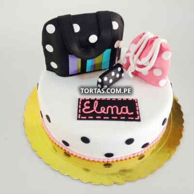 Lafrutita.com - TORTA CARTERA 47 - Codigo:TCM47 - Detalles: Deliciosa torta de keke De Vainilla  ba�ada con manjar blanco y forrada con masa elastica con medidas de 20 x 30 cm , con billetera no comestible forrada en masa elastica - - Para mayores informes llamenos al Telf: 225-5120 o 476-0753.