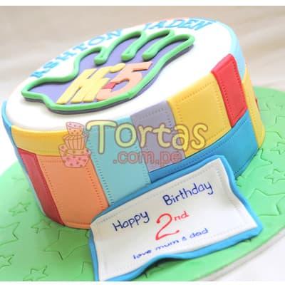Lafrutita.com - Torta Hi5 - 08 - Codigo:THI08 - Detalles: Deliciosa torta a base de keke De Vainilla ba�ado con manjar blanco y forrado con masa elastica. La torta tiene medidas de: 15cm de diametro. Incluye decoracion haciendo referencia a la imagen. Incluye base de masa elastica. - - Para mayores informes llamenos al Telf: 225-5120 o 476-0753.