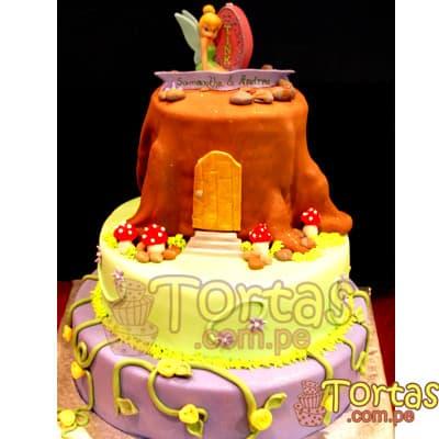 Torta tinkerbell 06 - Codigo:TKB06 - Detalles: Deliciosa torta a base de keke ingles , bañado con manjar blanco y forrado en su totalidad con masa elástica, la torta es de medidas:  Primer piso de 35cm de diametro, segundo piso de 25cm de diametro y tercer piso DOBLE de 15cm de diametro.  Incluye Foto-impresion de Tinkerbell en la parte superior. - - Para mayores informes llamenos al Telf: 225-5120 o 4760-753.