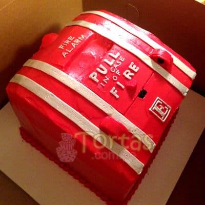 Grameco.com - Regalos a PeruTorta bombero 01