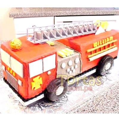 Grameco.com - Regalos a PeruTorta bombero 02