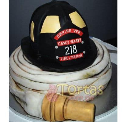 Grameco.com - Regalos a PeruTorta bombero 05