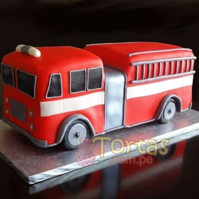 Grameco.com - Regalos a PeruTorta bombero 09